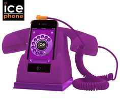 Ice Phone Retro Handset - Purple