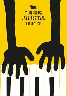 Montreux Jazz Festival Poster / Grafist 17 on Behance