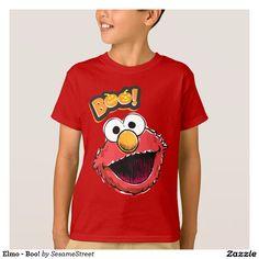 Elmo - Boo! Regalos, Gifts. #camiseta #tshirt