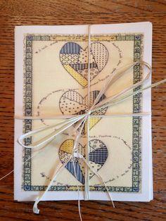 Whole Heart Note Card Set by patsyburnette on Etsy, $7.00