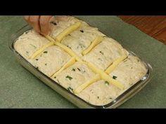 ¿Cómo es que no conocía esta receta antes? ¡Es muy fácil y económica! - YouTube Canapes, Deli, Biscuits, Rolls, Food And Drink, Pudding, Recipes, Brunches, Youtube