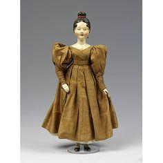 1830 : deutsche Puppe mit Englischen Kleid :  V Search the Collections