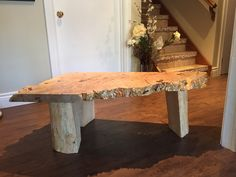 Live Edge Table, Outdoor Furniture, Outdoor Decor, Home Decor, Homemade Home Decor, Decoration Home, Yard Furniture, Interior Decorating