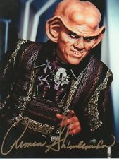 Star Trek DS9 Autograph Armin Shimerman as Quark