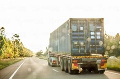 Passing an australian haulage truck on the highway