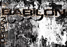 Urban-Babilon / digital graphic / print100x70cm