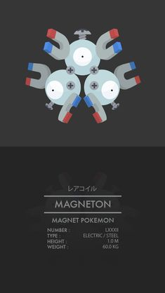 Magneton by WEAPONIX on DeviantArt