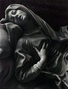 """BERNINI Gian Lorenzo - Italian (Naples 1598-1680 Rome) - Beata Ludovica Albertoni """"Esta abstracción suprema que sólo puede expresarse por medio de la música"""""""