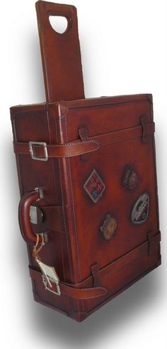 Love Leather Travel Bag | Handcrafted In Italy - Orient Express Leather Trolley, $1,599.00 (http://www.loveleathertravelbag.com/leather-trolley-orient-express/)