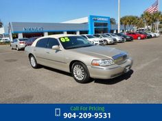 2005 Lincoln Town Car Signature Call for Price  miles 904-209-9531 Transmission: Automatic  #Lincoln #Town Car #used #cars #NimnichtChevrolet #Jacksonville #FL #tapcars