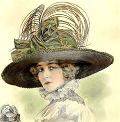 Belle Epoque 1911 French Millinery