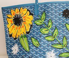 goyard customizada flores juliana ali 2 - Juliana e a Moda | Dicas de moda e beleza por Juliana Ali