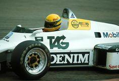 Ayrton Senna - Williams FW08C - 1983