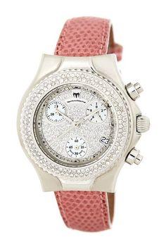 Technomarine Women's Diamond Chronograph Stainless Steel Watch by Non Specific on @HauteLook