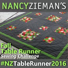 You are invited to participate in my2016 Fall Table Runner Sewing…