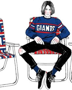 Amanda Lanzone art illustration giants