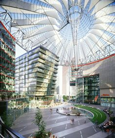 Modern Architecture In Germany – 26 Interesting Buildings, Sony Center Berlin