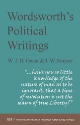 Wordsworth's Political Writings  Author: Owen, W J B and J W Smyser (eds)  £15.95