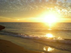 I want to have sunrise walks on so many beaches, in so many locales -- please , please, let it be. xoxo