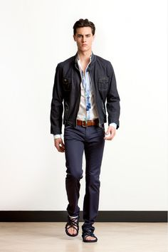 Alexis Mabille Spring 2014 Menswear Collection Slideshow on Style.com