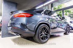 Mercedes-Benz GLE 350d Coupè 4M | AMG | Gris Tenorita | Auto Exclusive BCN | Concesionario Ocasión Mercedes-Benz Barcelona | http://autoexclusivebcn.com