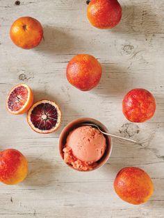 Blood Orange Ice Cream. #foodies