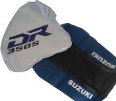 kit seat cover & tank cover Suzuki DR 350 DR350  free shipping worldwide #MmCdMotoShop