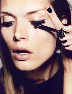 9. #mascara - Conseils #maquillage yeux 9 pour faire vos yeux #regardent plus jolie... → #Makeup