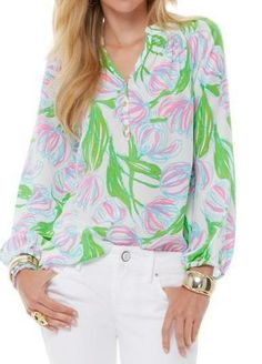 Lilly Pulitzer Elsa Top in Ring The Bellboy
