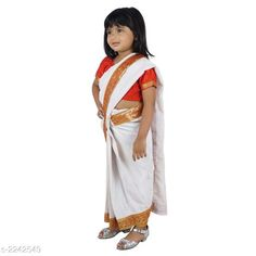 Lehenga Cholis  Charming Kid's Girls Saree   *Fabric* Cotton Blended  *Sleeves* Sleeves Are Included  *Size* Age Group (3 - 4 Years) - 22 in Age Group (5 - 6 Years) - 26 in Age Group (6 - 7 Years) - 28 in  *Type* Stitched  *Description* It Has 1 Piece Of Kid's Girl's Saree & 1 Piece Blouse  * Work * Printed  *Sizes Available* 2-3 Years, 3-4 Years, 4-5 Years, 5-6 Years, 6-7 Years, 7-8 Years, 8-9 Years, 9-10 Years, 10-11 Years, 11-12 Years, 0-1 Years, 1-2 Years *    Catalog Name:  Princess Charming Kid's Girls Saree  Vol 1 CatalogID_298337 C61-SC1137 Code: 045-2242549-