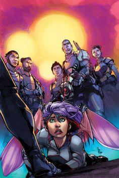Eternal Soulfire COVER Issue 2 Pencils Alex Konat Color Federico Blee