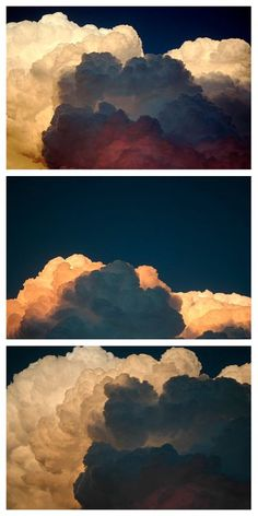 color clouds.