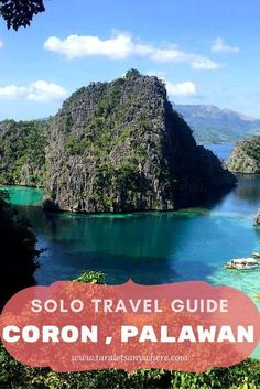 Budget travel guide to Coron, Palawan, Philippines, for solo travelers. Includes a sample itinerary to Coron for 5 days