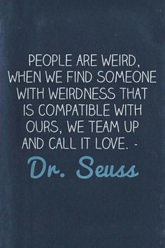 let's be weird together :D
