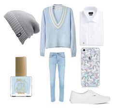 """""""Libra"""" by small-and-cute on Polyvore featuring ncLA, Ermenegildo Zegna, rag & bone, Vans, The North Face, men's fashion and menswear"""