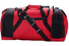 True to Size Apparel - Duffle Bag w/ Ball Pocket - Large compartment, $25.60 (http://truetosizeapparel.com/duffle-bag-w-ball-pocket-large-compartment/)