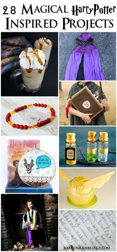 Fantastic tutorials and recipes for Harry Potter lovers -