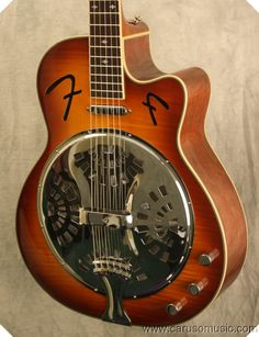 Fender FR50CE Cutaway Acoustic-Electric Resonator Guitar - The next item on my guitar investment list!