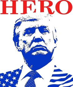 'Donald Trump Hero' Poster by clancybehave Trump New, Vote Trump, Pro Trump, Trump Poster, Hero Poster, Let That Sink In, Trump Train, First Lady Melania, Trump Pence
