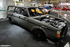 Lsx volvo - something tells me the performance of this wagon is different than my old '87 240 wagon