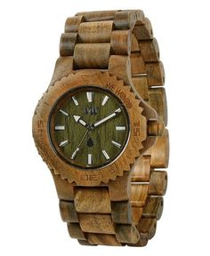 WeWood watch DATE ARMY