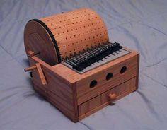 DIY Programmable Mechanical Music Box at the Automata Blog http://blog.dugnorth.com/2010/09/build-programmable-mechanical-music-box.html http://www.instructables.com/id/Build-a-Programmable-Mechanical-Music-Box/?ALLSTEPS