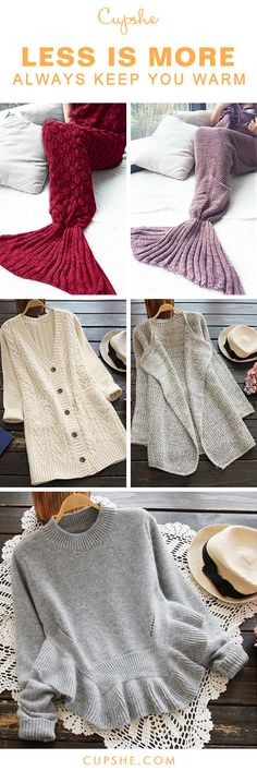 Always Keep You Warm, whether it's winter or spring. Free shipping & Easy Return + Refund! Better quality top, sweater and blanket here are waiting for you. Save more from Cupshe.com