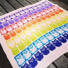 Ravelry: Slumreteppet Unni / Snoozzzze Blanket pattern by The Needle Lady