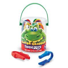Gator Grabber Tweezers (helps develop fine motor skills)