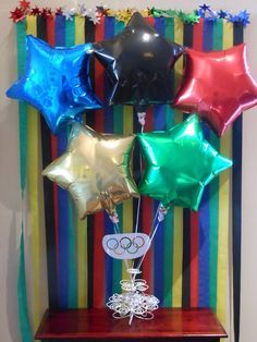 """Photo 3 of Opening Ceremonies Viewing Party """"Olympic Party"""" Beer Olympics Party, Summer Olympics, Olympics 2015, Kids Olympics, Olympic Idea, Olympic Games, Office Olympics, Party Time, Party Party"""
