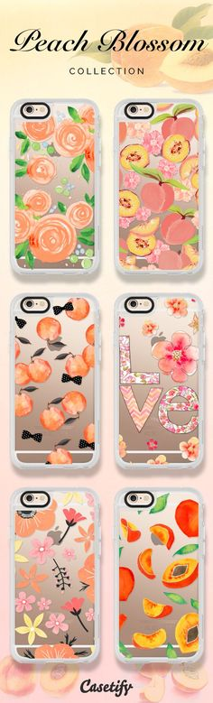 Shop these peach blossom themed cases here: https://www.casetify.com/artworks/ILT68IMwgj | @casetify