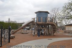 Metro Detroit Mommy: New Greenfield Village Play Area