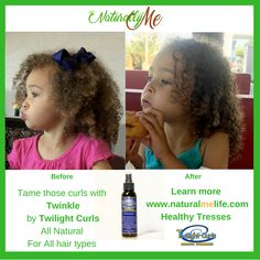 Tame your curls with Twinkle by Twilight Curls. Learn more about healthy hair www.naturalmelife.com in Healthy Tresses. #organic #naturallyme #naturalyou #teamnatural #curls #kinky #twilightcurls #growthovernight #fastergrowth #longhair #hairloss #balding #hair #healthyhair #lovethehairyouarein