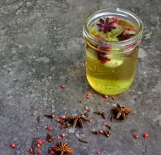 Spiced Green Tea Recipe (use honey for sweetener) @ Pascale De Groof